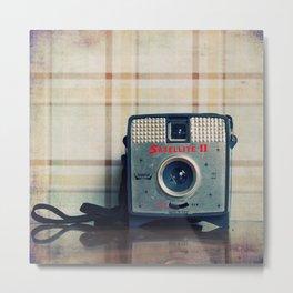 Vintage Camera Love: Imperial Satellite! Metal Print