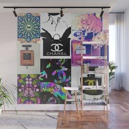 CC No.5 Fashion Collage Wall Mural
