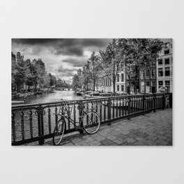 AMSTERDAM Emperors canal Canvas Print