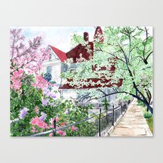 Eureka Springs Victorian Canvas Print