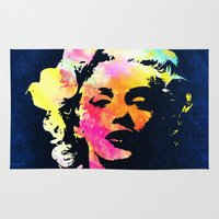 marilyn Area & Throw Rugs featuring Marilyn by Fimbis