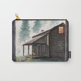 Cabin in the Pines Carry-All Pouch