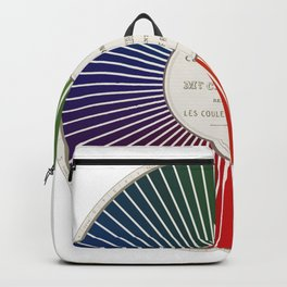 Chevreul Cercle Chromatique, 1861 Remake, renewed version Backpack
