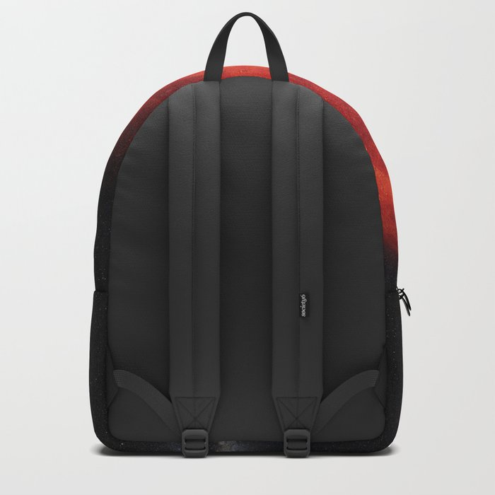 Super bloody moon Backpack
