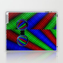 Colored lines Laptop & iPad Skin