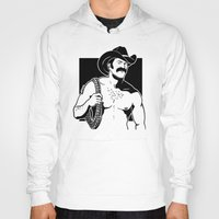 cowboy Hoodies featuring Cowboy by Fast Drip