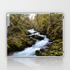 River in Bled, Slovenia. Laptop & iPad Skin