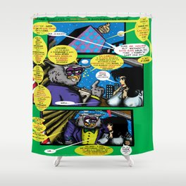 Bird of Steel Comix – 6 of 8 (Society 6 POP-ART COLLECTION SERIES)   Shower Curtain
