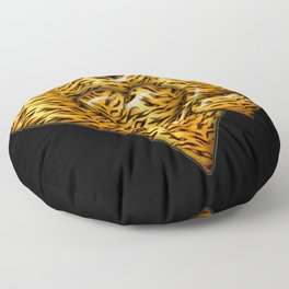 Cheetah Heart HD by JC LOGAN 4 Simply Blessed Floor Pillow