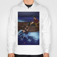 zuko Hoodies featuring Enchanted by NiiArt