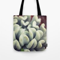 succulent Tote Bags featuring Succulent by BURNEDINTOMYHE∆RT♥