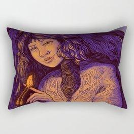 The Firebird Rectangular Pillow