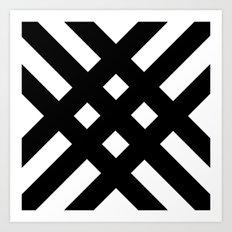 dijagonala v.2 Art Print