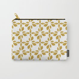 golden leaves pattern Carry-All Pouch
