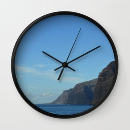 Blue & Blue. Wall Clock