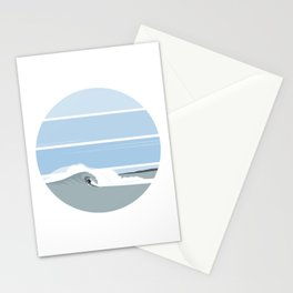 Surfer's Glory Day Stationery Cards
