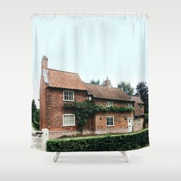 Holiday house in Nottinghamshire Shower Curtain