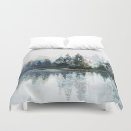 Winter Morning Duvet Cover