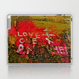 "Message Fading Daily, ""Love One Another"" Laptop & iPad Skin"
