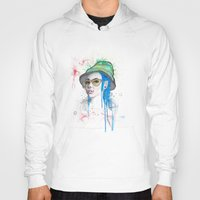 fear and loathing Hoodies featuring Fear and Loathing by Becca Douglas