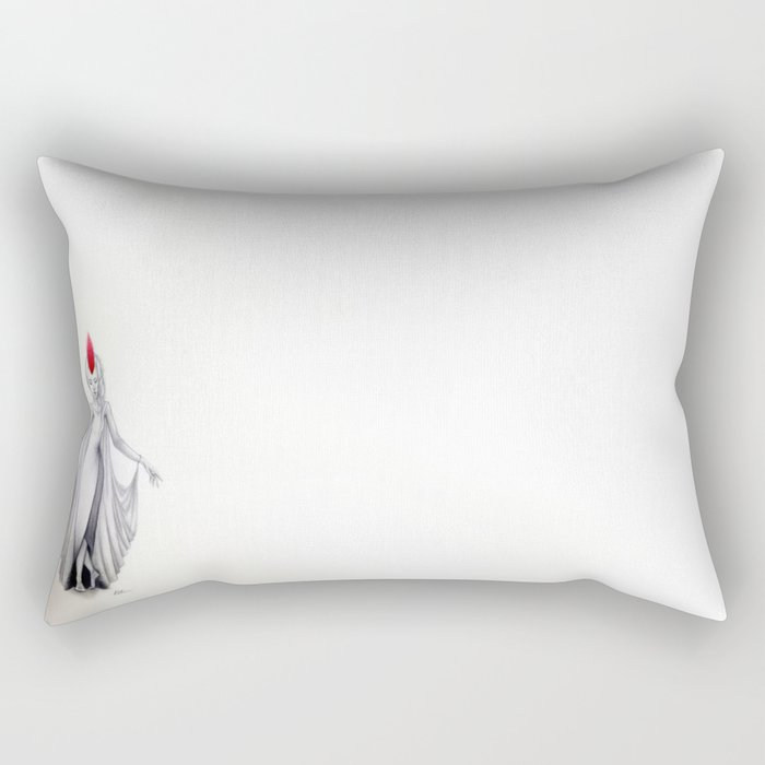Crane Wife Rectangular Pillow