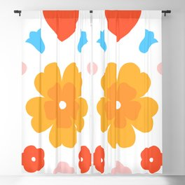 Spring Bunnies Blackout Curtain