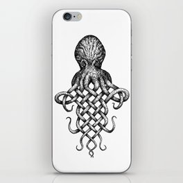 Knotopus, the Celtic Knot Octopus iPhone Skin