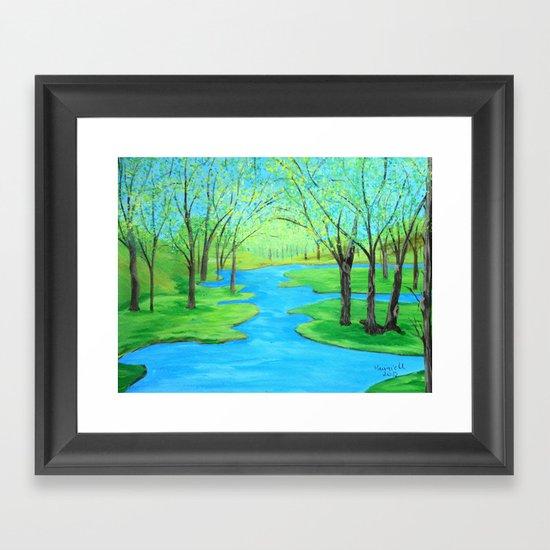 Colors of spring  Framed Art Print