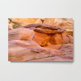 Colorful Sandstone, Valley of Fire State Park Metal Print