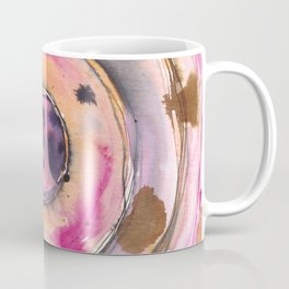 Abstract Ink & Watercolor - Chai Sun Coffee Mug