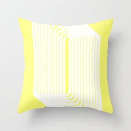 rounded squares Throw Pillow