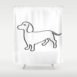 Doxie Love Shower Curtain