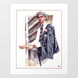 Veesh L Swamy Dapper Man Art Print