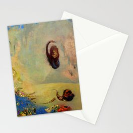 """Odilon Redon """"Oannes anagoria"""" Stationery Cards"""