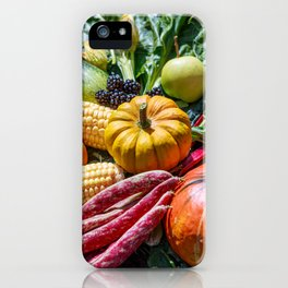 Mixed vegetables iPhone Case