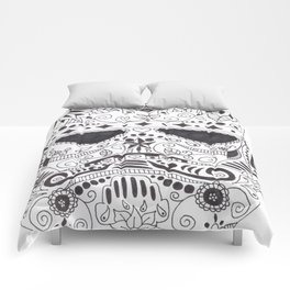 Day of the Dead Trooper Comforters