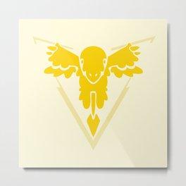 Pokerman Geddum - Team Indistinct Metal Print