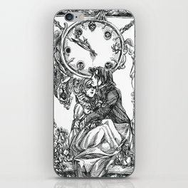 Inktober 2018: Clock iPhone Skin