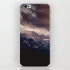 Cross Mountains #sunset iPhone & iPod Skin