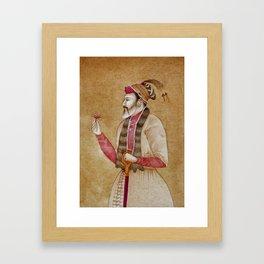 Mughal Emperor Framed Art Print