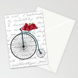 Floral Bike Stationery Cards