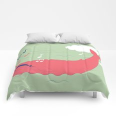 The Singing Whale Comforters