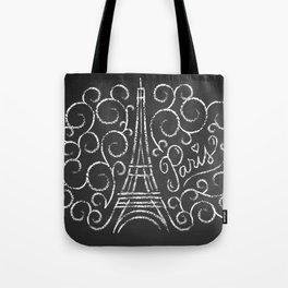 Paris Sketch Tote Bag