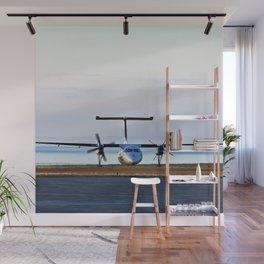 Plane Landing Wall Mural