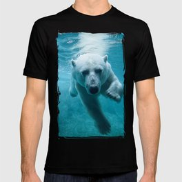 Polar Bear Swimming T-shirt
