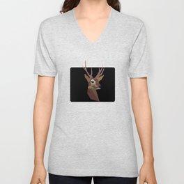 Deer poster picture mug bag rug clock shirt print framed Unisex V-Neck