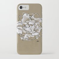 peony iPhone & iPod Cases featuring Peony by Mich Li