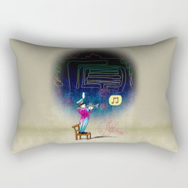 Make your own kind of music! Rectangular Pillow