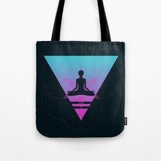 Neon Dimensions Tote Bag