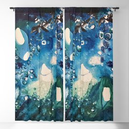 Penguin Escape, Tiny World Collection Blackout Curtain